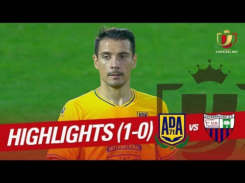 Resumen de AD Alcorcón vs Extremadura UD (1-0)