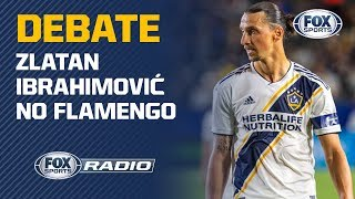 IBRA NO FLAMENGO É DEBATE NO FOX SPORTS RÁDIO!