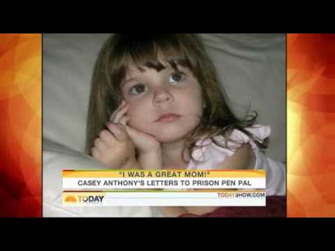 casey anthony myspace diary. Casey Anthonys jailhouse