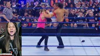 WWE Smackdown 5/9/17 Shinsuke confronts Dolph Ziggler