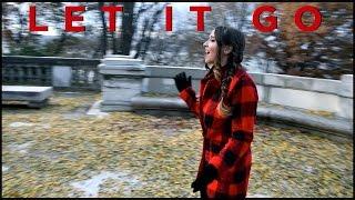 """Let It Go"" - Disney's Frozen - Idina Menzel Demi Lovato - Cover by Ali Brustofski"