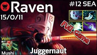 Raven [LOTAC] plays Juggernaut!!! Dota 2 Full Game 7.21