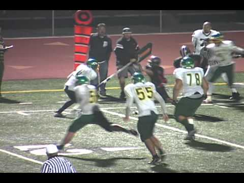 Fontana A.B. Miller football highlights 2011