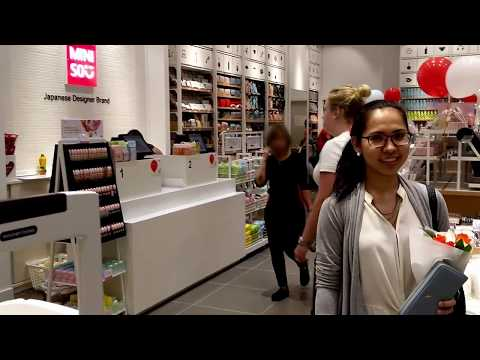 MINISO Tour New Japanese Fast Fashion Designer Brand Store Yas Mall, Abu Dhabi, UAE