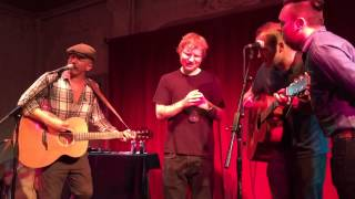 Foy Vance, Marcus Foster, Ed Sheeran and Lee Mitchell medle