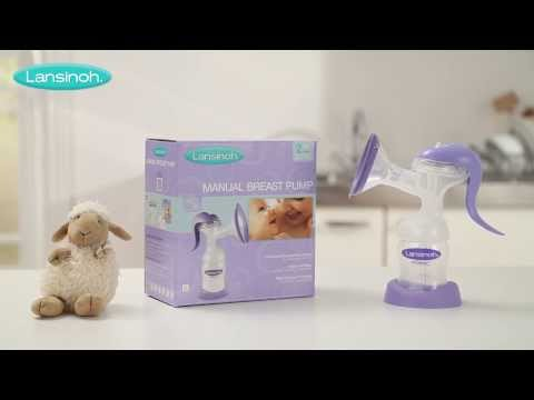 Lanisnoh Manual Breast Pump - How to Use