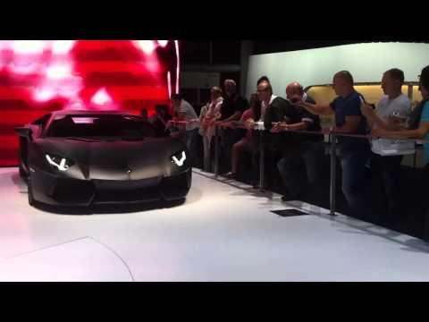 Автосалон Франкфурт 2011 - Frankfurt auto show  Lamborghini
