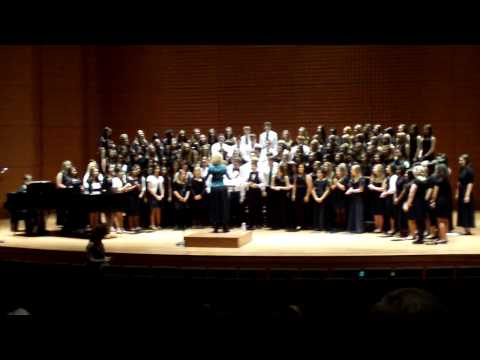 Silver Sands Middle School Choir at Lincoln Center NY