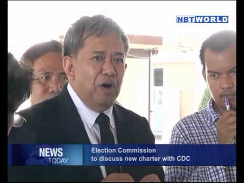 Election Commission to Discuss New Charter with CDC