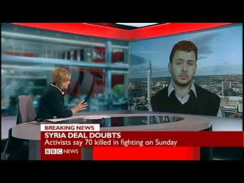BBC News talks to Abdulwahab Omar about the fate of Kofi Annan's plan for Syria
