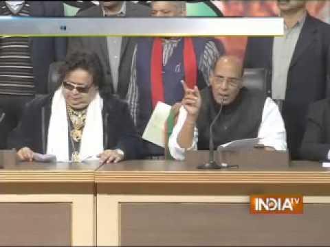 Bappi Lahiri, the legendary music director, joins BJP