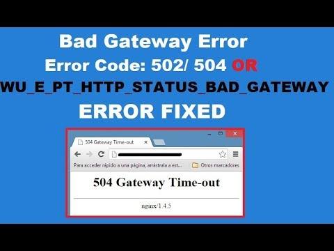 502 bad gateway error azure