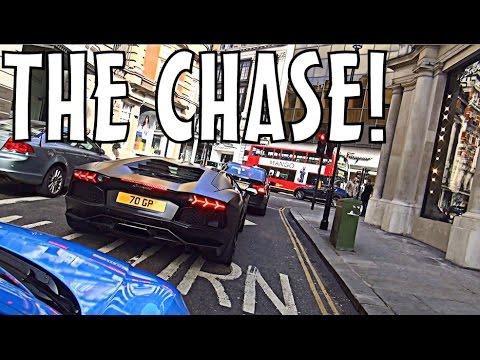 THE CHASE: Lamborghini Aventador & Huracan in London!!