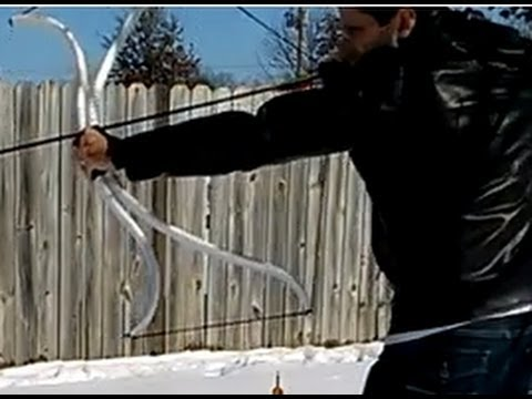 Shooting the Penobscot-Style PVC Double-Bow