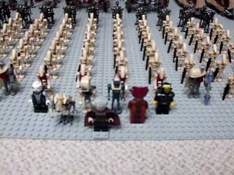 Big Lego Star Wars Droid Army!!!