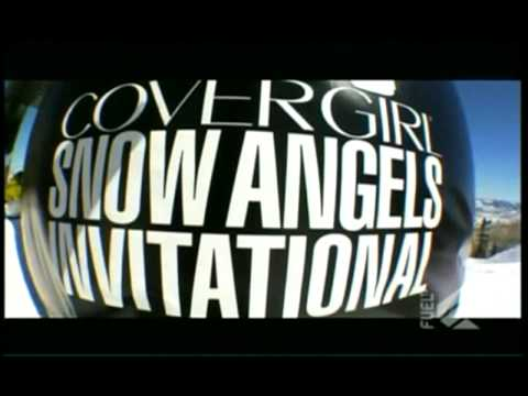 Snow Angels Snowboarding - FuelTV - Meg Pugh Aspen, CO - part 1 of 3