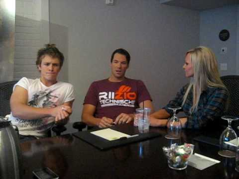 Kyle interviews New Moon stars Daniel Cudmore and Charles Bewley Part 1 Video