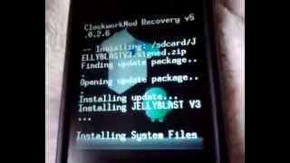 Rom 4.1.1 Galaxy y JellyBlast V3