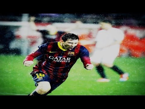 Lionel Messi ● All 41 Goals In 2013-2014 ● With Commentary video
