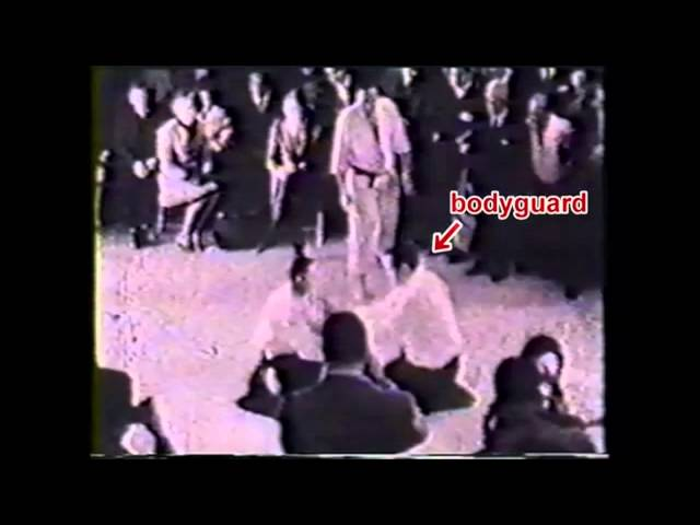 Aikido is Real - demonstration to Kennedy's bodyguard