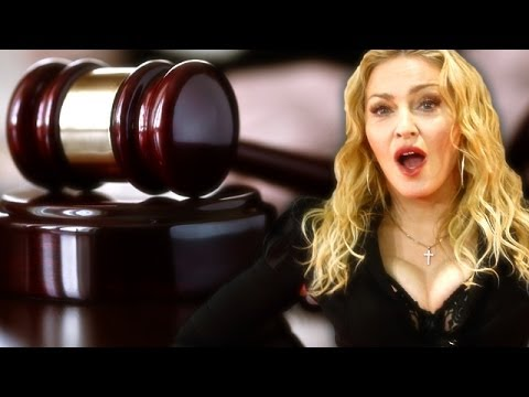 "Madonna is ""Too Distracting"" for Jury Duty 