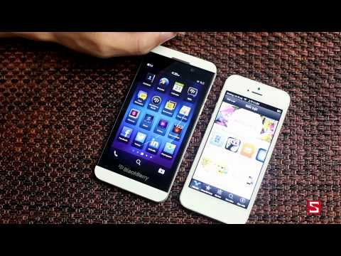 BB Z10 vs iPhone 5: So sánh phần mềm....... - Phần 2 - CellphoneS