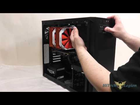 Corsair Carbide Series 200R Mid Tower Component Install + Benchmarks