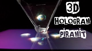 3D HOLOGRAM PİRAMİT YAPIMI