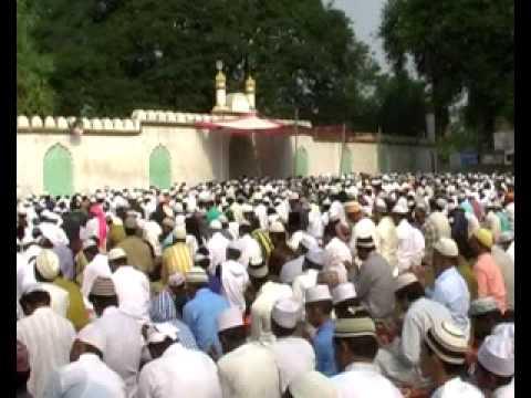 2 Eid Bakrid Namaaz in Masjid Bilaspur  by Muslims
