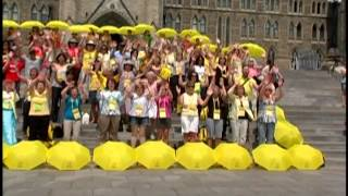 Singing on Parliament Hill