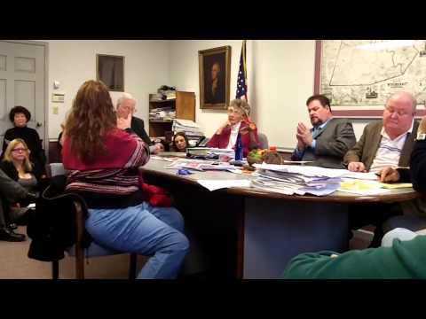 Wyoming County Commissioners Meeting Gas Drilling Air Testing Discussed