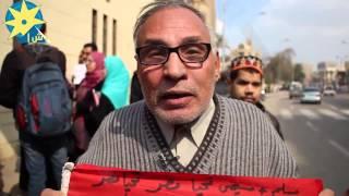 بالفيديو : مواطن مصري : قطر وتركيا حذاء في قدم امريكا