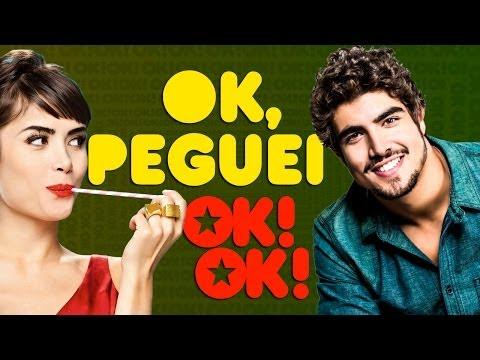 Okok! Peguei! Caio Castro E Maria Casadevall video