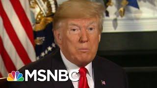 President Donald Trump Was In Room During Hush Money Talks | Morning Joe | MSNBC