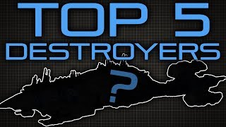 Top Five Sci-Fi Destroyers