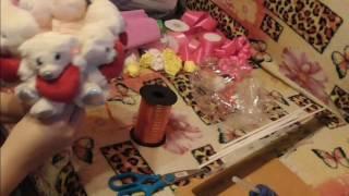 Мастер класс букет из игрушек. Легкий способ сделать букет из игрушек