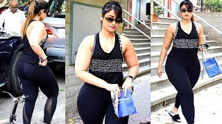 Ileana D'Cruz Looking So FAT after Marriage while Spotted in Bandra | Ileana D'Cruz