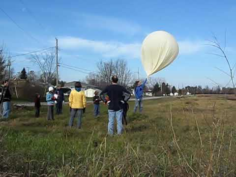 VE3REX-11 Amateur Radio Balloon Launch