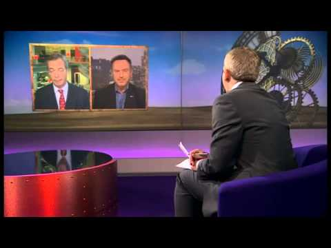 BBC Sunday politics -Nigel Farage,  Scotland, UK and the EU