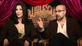 Jim Ferguson Interviews Cher and Stanley Tucci for Burlesque (November 2010)