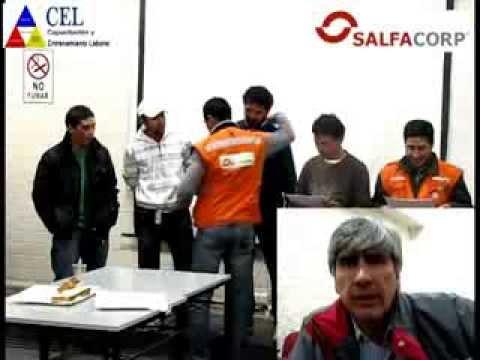 Capacitación en el Puesto de Trabajo, 20 años de experiencia. SalfaCorp Minera Andina