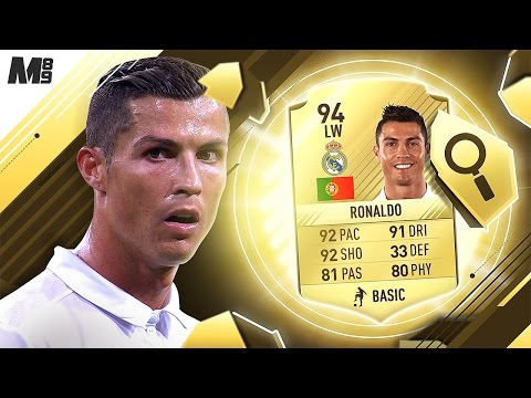 FIFA 17 RONALDO REVIEW | 94 RONALDO | FIFA 17 ULTIMATE TEAM PLAYER REVIEW