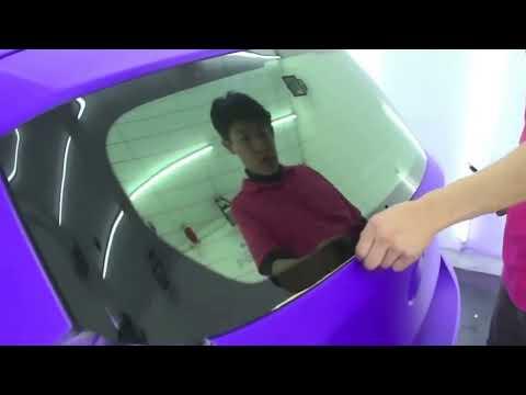 BMW 120i Plasti Dip Blaze Purple & Firebelly Orange (CARWAii.COM)