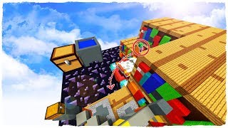 99.9% IMPOSSIBLE TO PASS THIS GIANT MAP IN THE MIDDLE HEART - MINECRAFT
