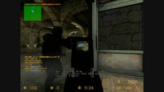 【CS:S】Counter-Strike:Source Zombie Escape をプレイ!【バイオハザード洋館編】