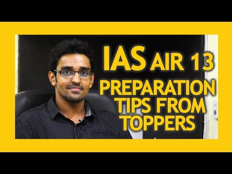 IAS topper interview 2016 | IAS exam syllabus | question and answer | AIR 13