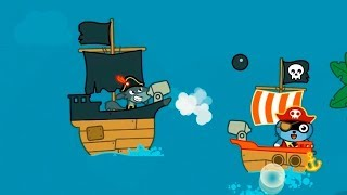 Pango PIRATE Saves FRIENDS Hilarious ADVENTURE Game cartoon for kids GAME for kids.