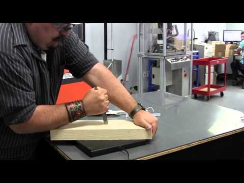 Benchmade 2550 Automatic Test and Demonstration