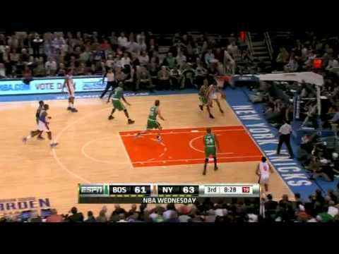 2010-11 Boston Celtics VS New York Knicks (Pierce Game Winner!)