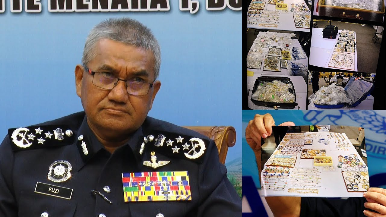 """RM1.1bil valuation of seized items """"not an exaggeration"""", says IGP"""